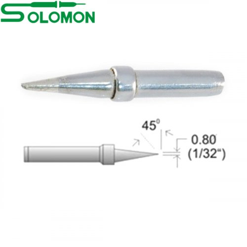Μύτη κολλητηρίου 821(μακρυά) 0.8mm για το κολλητήρι SL-20I/SL-30I Solomon