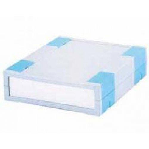 Κουτί πλαστικό 197x167x50mm γκρί με αποσπώμενη πρόσοψη G777 Gainta
