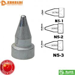 Μύτη κολλητηρίου 1.3mm N5-3 για απορροφητικό πιστόλι ZD-552 Zhongdi