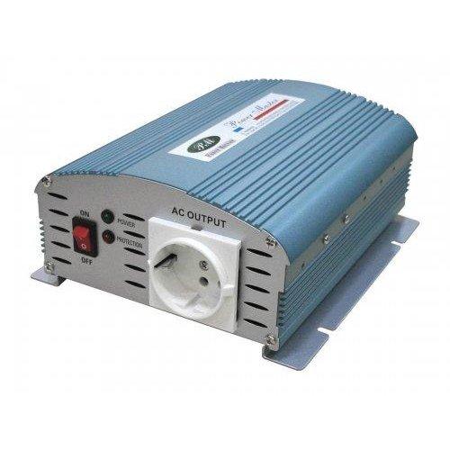 Inverter 12V->230V 600W power master PMA-0600AH-12V Τροποποιημένο Ημίτονο