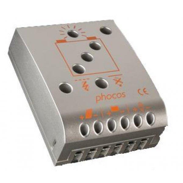 Ρυθμιστής φόρτισης 12V-24V 15Α CML-15-2.1 PHOCOS