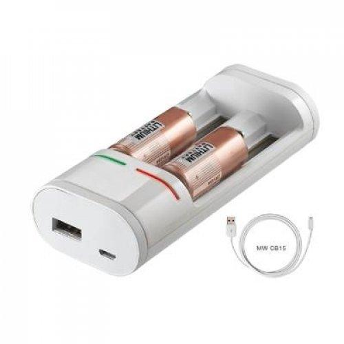 Φορτιστής μπαταριών Ni-Mh, Ni-Cd, Li-ion MW-I319 Minwa