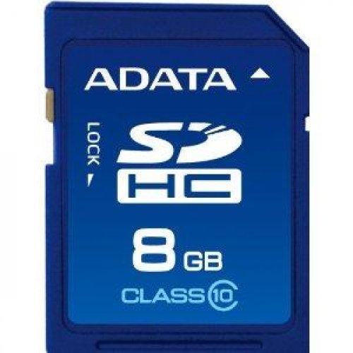 Κάρτα μνήμης SDHC 8GB CLASS 10 ADATA