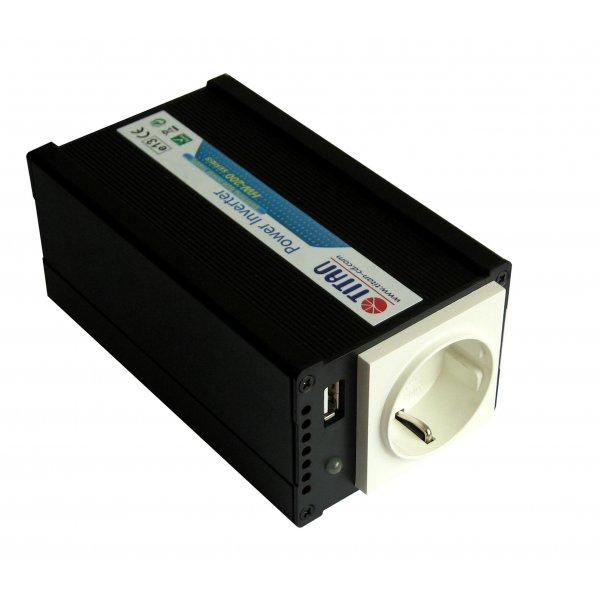 Inverter 12V->230V 200W HW-200E6 Titan Τροποποιημένο Ημίτονο