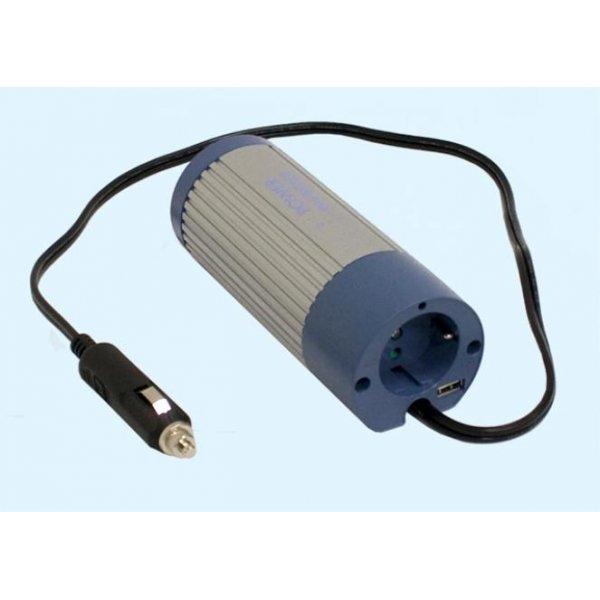 Inverter 24V->230V 100W A302-100-F3 Mean Well Τροποποιημένο Ημίτονο
