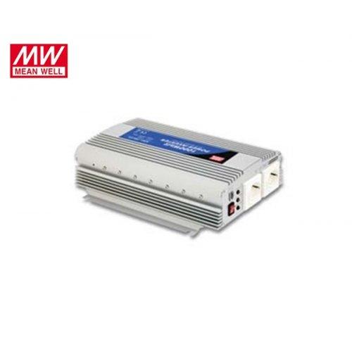 Inverter 12V->230V 1000W A301-1KO-F3 Mean Well Τροποποιημένο Ημίτονο