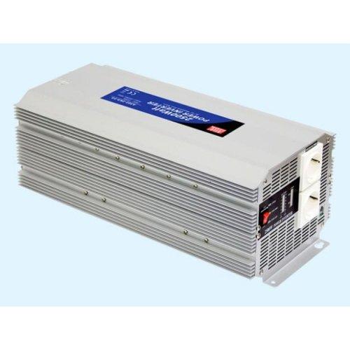 Inverter 12V->230V 2500W A301-2K5-F3 Mean Well Τροποποιημένο Ημίτονο