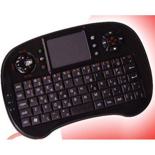 Πληκτρολόγιο mini Bluetooth με επιφάνεια αφής KW252TG