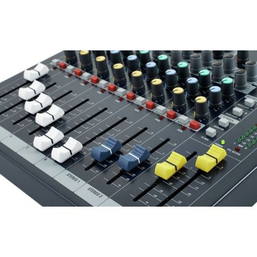 Μίκτης ήχου 6 mono + 2 stereo SPIRIT EPM6 Soundcraft