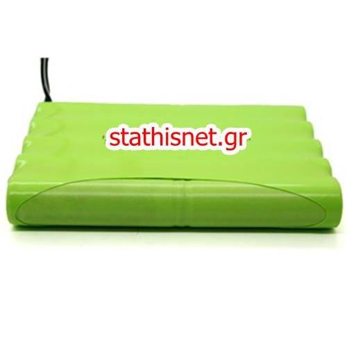 Μπαταρία pack 10 pcs x 1.2V AA 12V 980mAh Ni-Mh με λαμάκι Code S SAFT