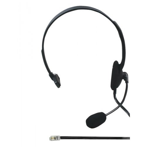 Ακουστικά Τηλεφώνου RJ9  Μαύρο CHSTRJ100BK Nedis