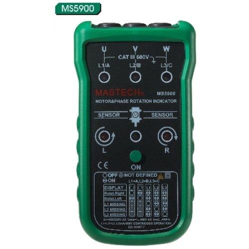 Φασήμετρο μοτέρ  MS5900 MASTECH