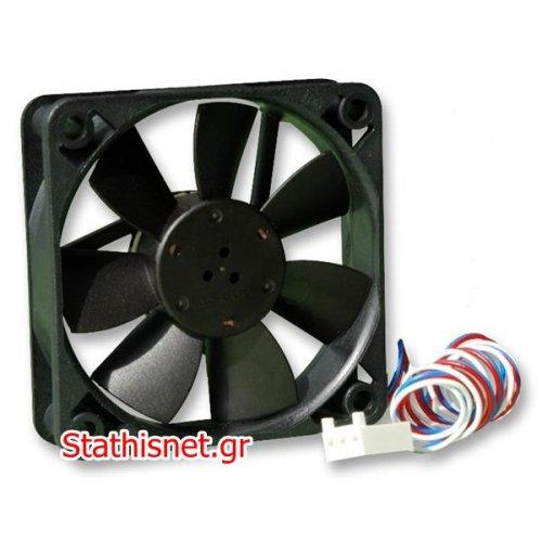 Ανεμιστήρας 12VDC 50x50x15 mm 3pins 512F/2 κουζινέτο EBM-PAPST