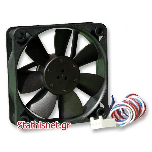 Ανεμιστήρας 24VDC 60x60x15 mm 3pins 614F/2 κουζινέτο EBM-PAPST