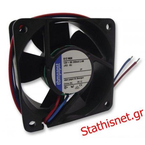 Ανεμιστήρας 48VDC 80x80x32 mm 8318 ΡΟΥΛΕΜΑΝ EBM-PAPST