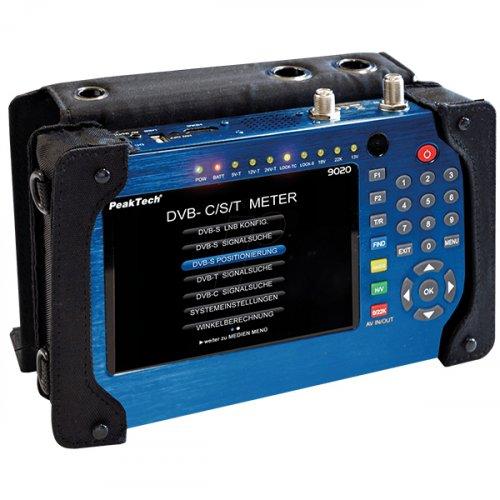 Πεδιόμετρο DVB-C/S/T PeakTech 9020