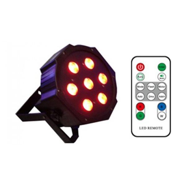 Φωτιστικό προβολέας Led RGBW 7x4W Μαύρο IP20 ST-1023R STARAY