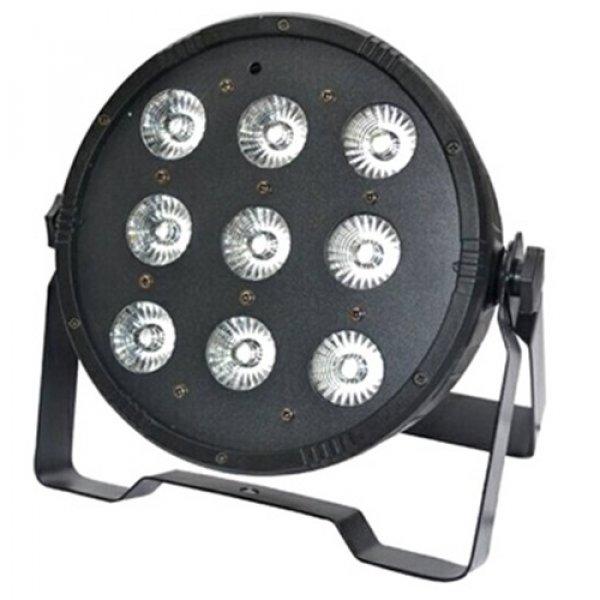 Φωτιστικό προβολέας led RGBW 9x10W μαύρο IP20 ST-1033