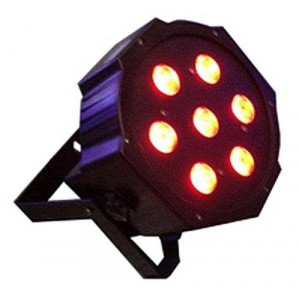 Φωτιστικό προβολέας Led RGBW 7x4W Μαύρο IP20 ST-1023