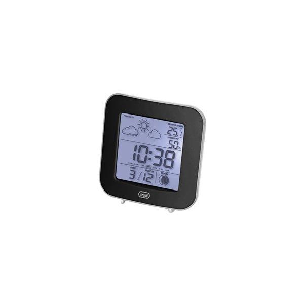 Μετεωρολογικός σταθμός με θερμόμετρο καί ρολόι ME 3106 TREVI