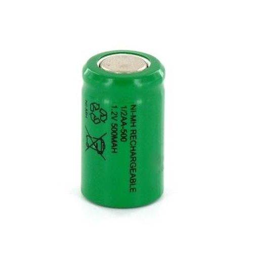 Μπαταρία 1/2 AA 1,2V 500mAh Ni-Mh + tags Fujitron