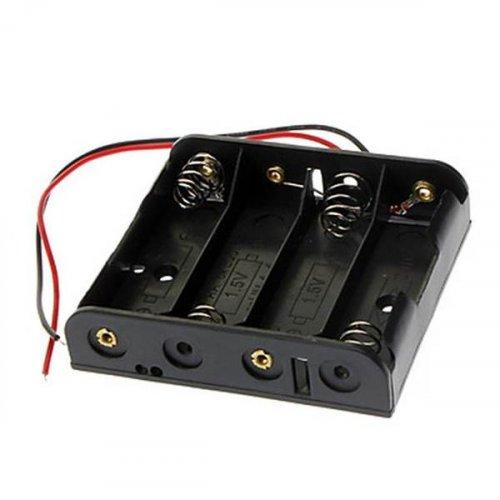 Μπαταριοθήκη 4 x AA μπαταριών με καλώδιο BH0017A