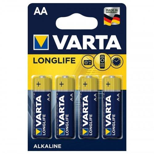 Μπαταρία alkaline LR06 AA BL4pcs 4106 LONG LIFE VARTA