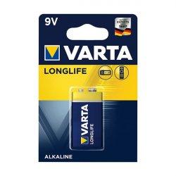 Μπαταρία αλκαλική 6LR61 9V 4122 Long Life VARTA