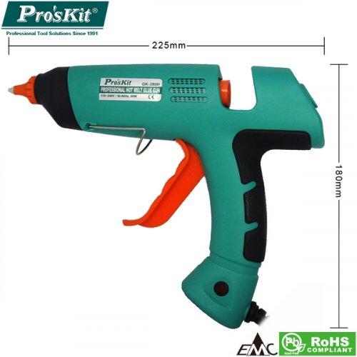 Θερμοκολλητικό πιστόλι σιλικόνης 80W special GK-390B Pro'skit