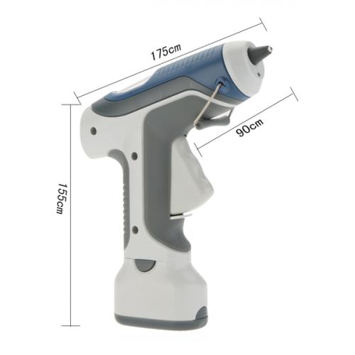 Θερμοκολλητικό πιστόλι σιλικόνης 7W φορητό με μπαταριά GK-368 Pro'skit