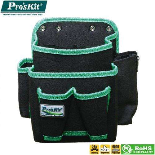 Βαλίτσα εργαλείων ζώνης 13 θέσεων πολυεστέρα 250x250x170mm ST-5102 Pro'sKit