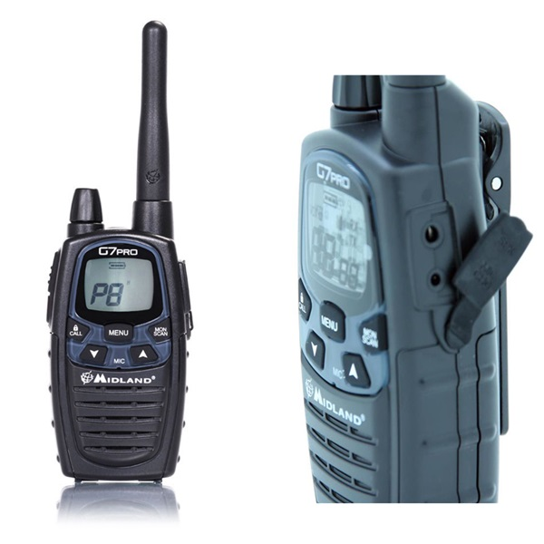 Walkie talkie PMR G7 Pro Single Midland