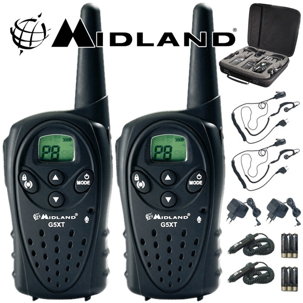 Walkie talkie PMR G5 XT work & hobby Midland