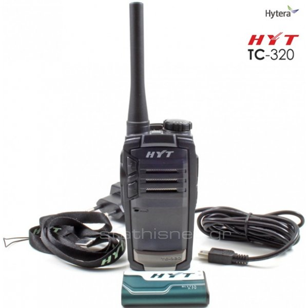 Walkie talkie UHF TC 320 single Hytera