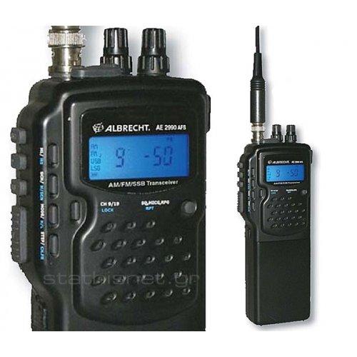 Πομποδέκτης Φορητός CB AM/FM/SSB AE 2990 AFS Albrecht