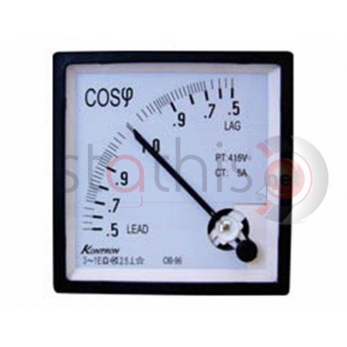 Οργανο πίνακος συνημιτόμετρο AC 72X72 0.5-1-0.5 SF-72 SFIM