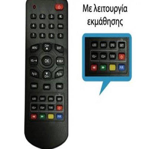 Τηλεχειριστήριο για DVB-T MPEG 4 CRYPTO - F&U - FJ -UNITED