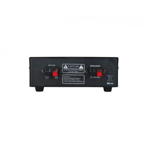 Ενισχυτής μικροφωνικός Auto 12V 30W  2xMIC/AUX PAA30 L-Frank