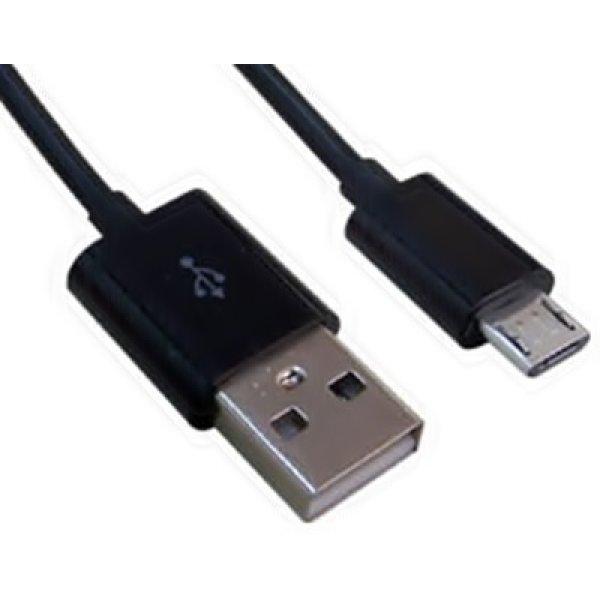 Καλώδιο φόρτισης USB 2.0 για android iPhone/iPad/iPod 1m μαύρο Lancom