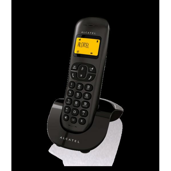 Τηλέφωνο ασύρματο μαύρο C250 Alcatel