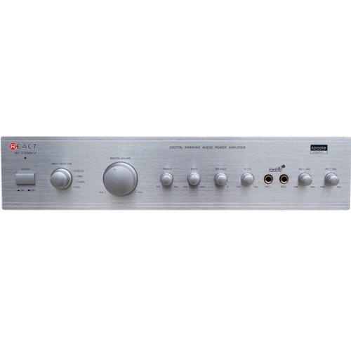 Eνισχυτής Ήχου 2 x 80W Ασημί AV-1300 /S React