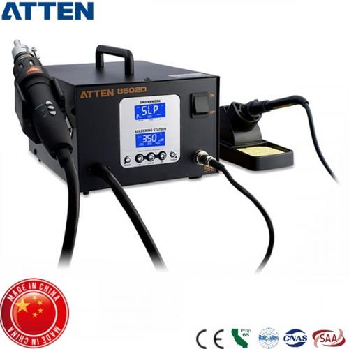 Σταθμός κόλλησης θερμού αέρα κεραμικός SMD 800W AT8502D Atten