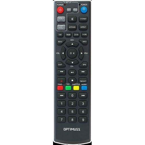 Τηλεxειριστήριο DVB-T universal TERES SD/HD OPTIMUSS