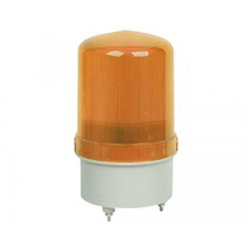 Φάρος μεσαίος 12VDC led κίτρινος περιστρεφόμενος 134X80mm  (C-1081) LTD1081