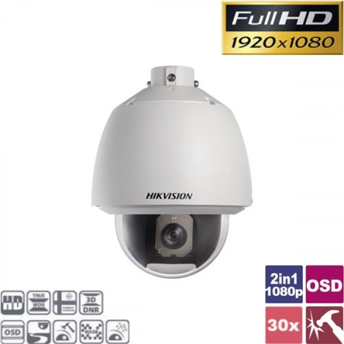 Κάμερα Speed Dome PTZ 30x IP66 Turbo-HD 1080p DS-2AE5230T-A Hikvision