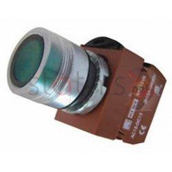 Μπουτόν χωνευτό Φ22 START 1NO με λυχνία 24VAC/DC R2PIF-G CNTD
