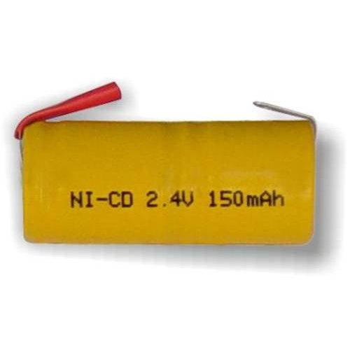 Μπαταρία 2,4V 150mAh 2 x 1/3 AA Ni-cd με λαμάκι