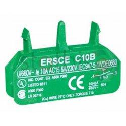 Επαφές για διακόπτες και μπουτόν start C10B 1NO ER520800