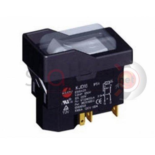 Διακόπτης ηλεκτρομαγνητικός 1NO+1NC 8A M/REM KJD16-2 Kedu