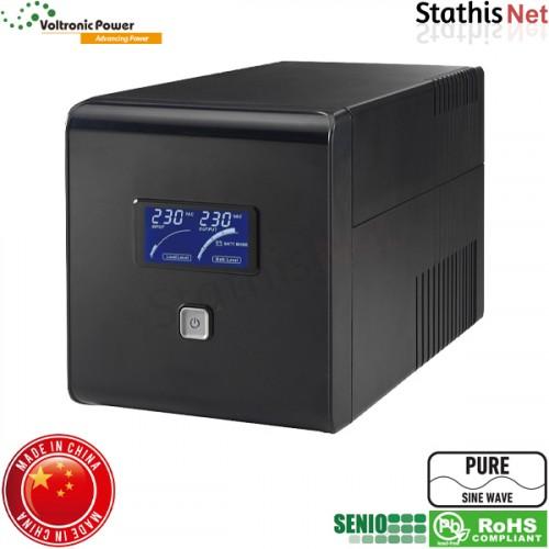 UPS line interactive 2000VA καθαρού ημιτόνου lapara sinewave voltronic